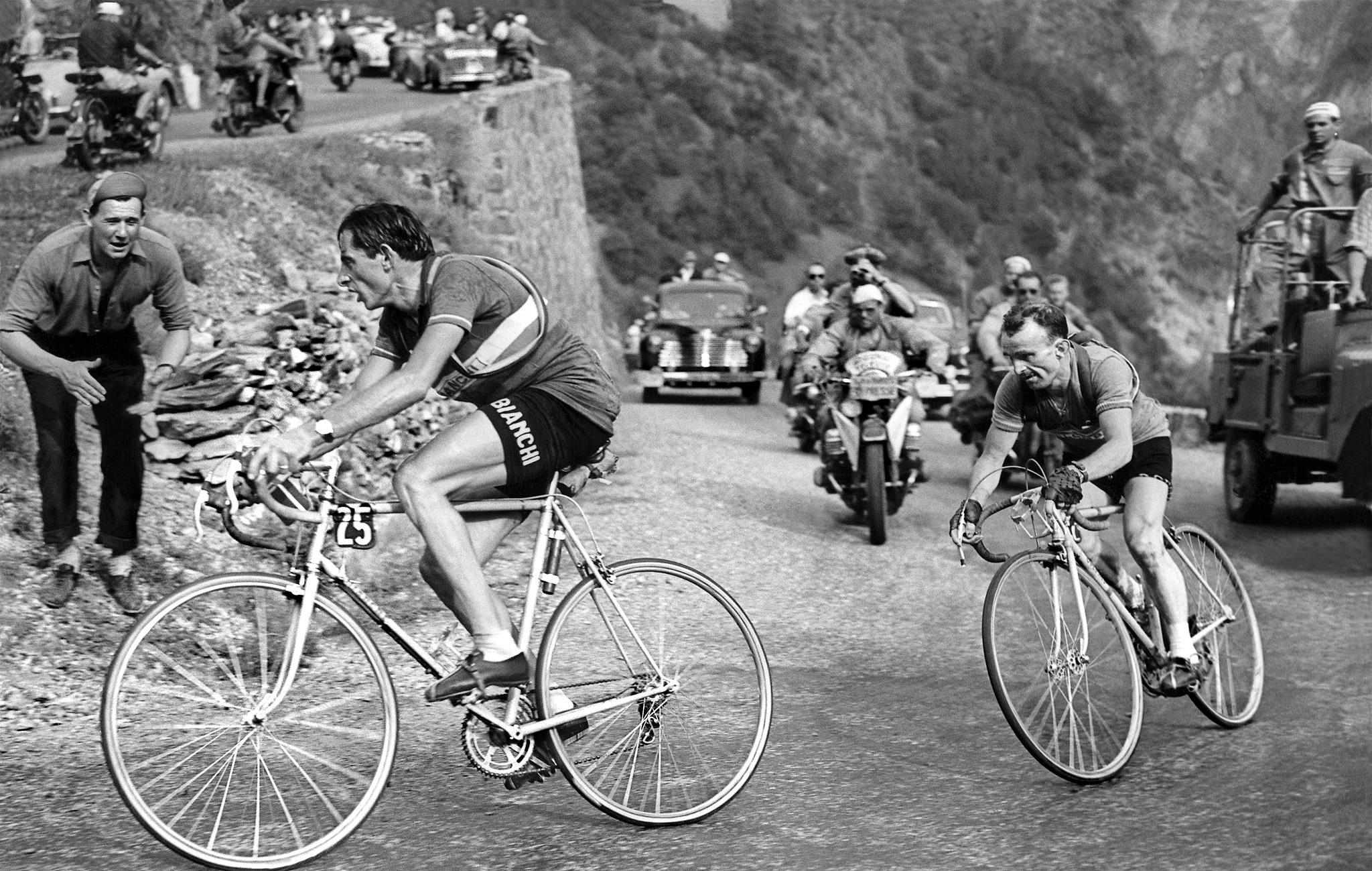 TOUR DE FRANCE 1952 L'ALPE D'HUEZ