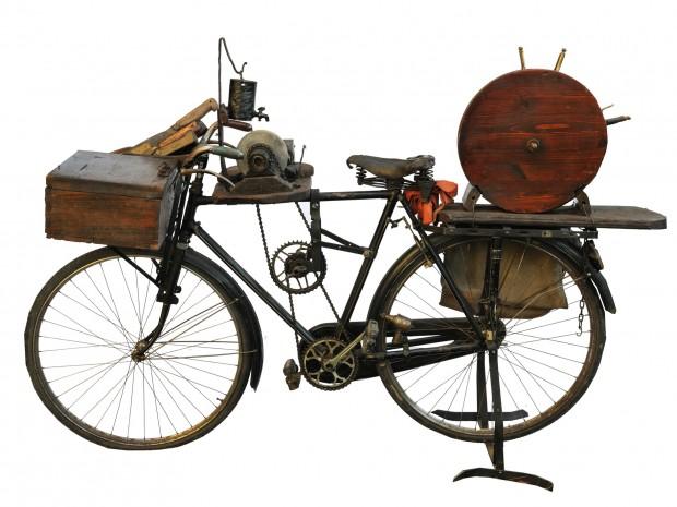 La bicicletta dell'arrotino