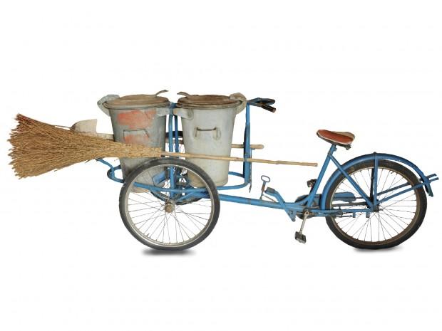 La bicicletta dello spazzino